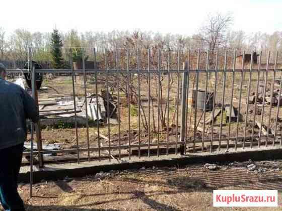 Огораживаем участки, заборы, металл, дерево Абакан