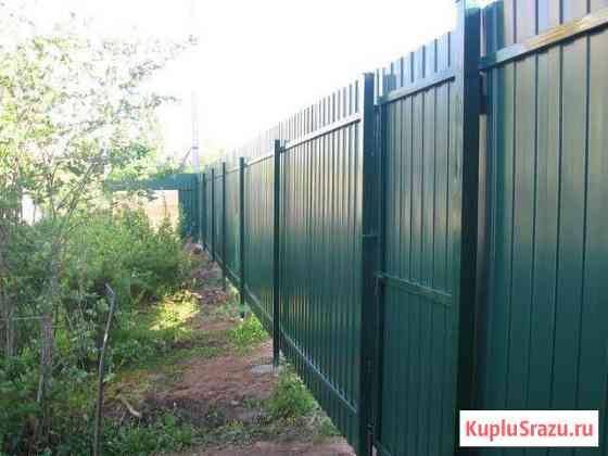 Заборы и ворота Красноярск