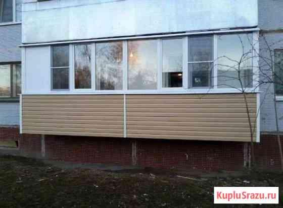 Остекление балконов, отделка Псков