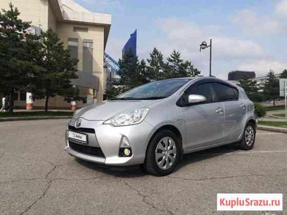 Toyota Aqua 1.5CVT, 2014, 103000км Хабаровск