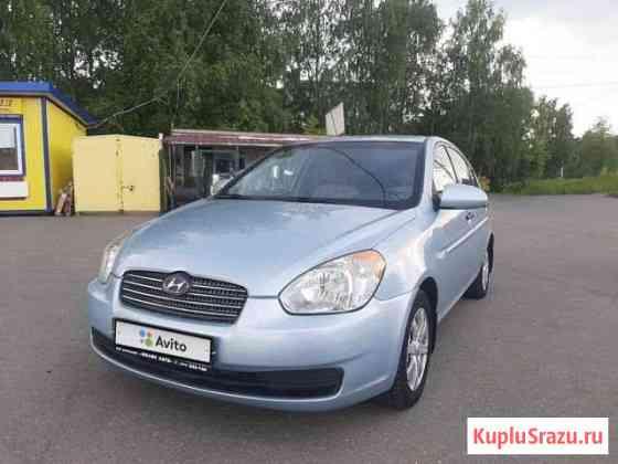 Hyundai Verna 1.4МТ, 2008, 138000км Ижевск