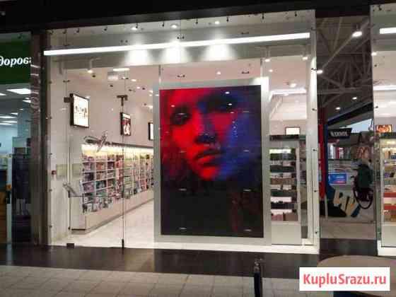 Светодиодный экран для витрины магазина Новокузнецк