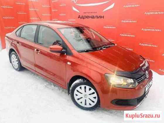 Volkswagen Polo 1.6МТ, 2011, 100000км Глазов