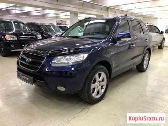 Hyundai Santa Fe 2.2 AT, 2008, 168 000 км Москва