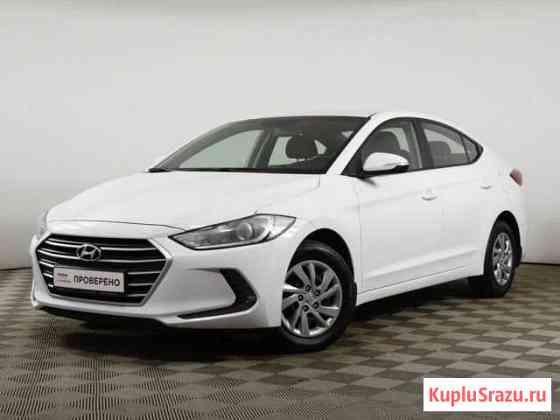 Hyundai Elantra 1.6AT, 2018, 49727км Москва