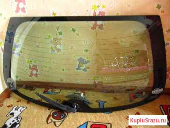 Стекло 5-й двери (багажника) nissan march Минусинск