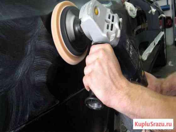 Профессиональная полировка автомобиля Омск