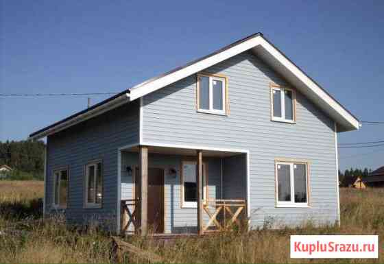 Дом 120 м² на участке 9 сот. Лесколово