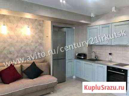 1-комнатная квартира, 44.2 м², 6/11 эт. Иркутск
