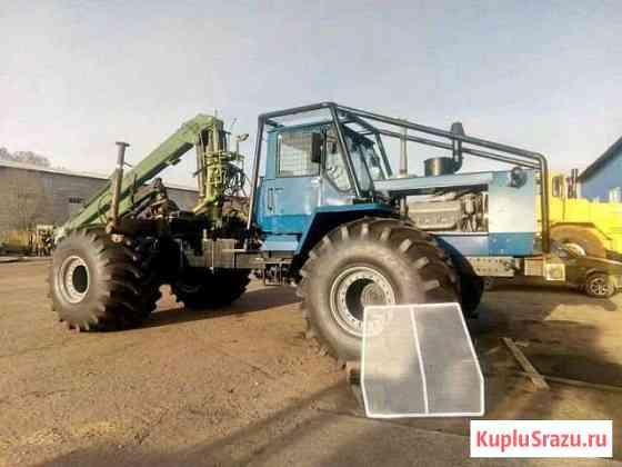 Болотоход Лесовоз Т150к хтз Ярославль