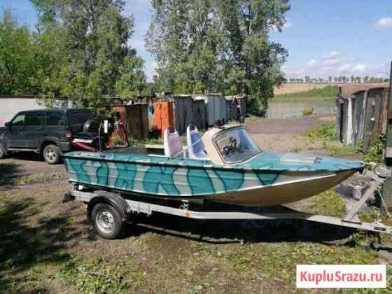 Мотолодка Днепр с мотором Меркурий-60 Новокузнецк