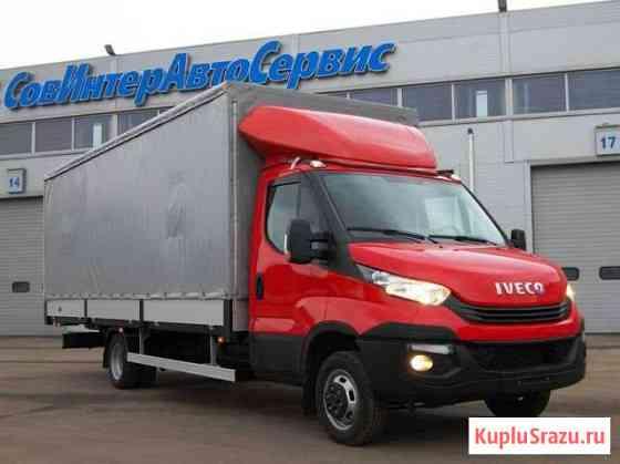 Iveco Daily 50C15 c бортовой платформой Москва