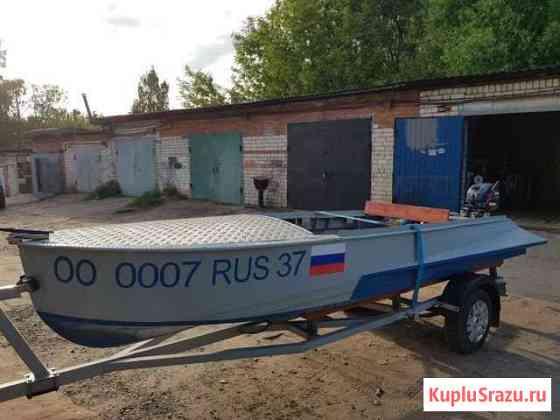 Казанка(лодка) с булями Кинешма