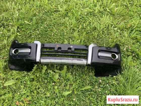Бампер передний Pajero 4 рестайлинг Тосно