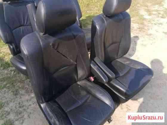 Кожаные сиденья комплект Хариер 2003-2009 Магадан