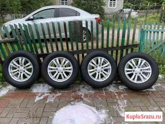 Оригинальные колёса от Mitsubishi Pajero 4 Тосно