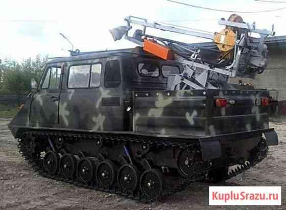 Вездеход Ветлуга модель ттс 34015 с убшм-1-13 Москва