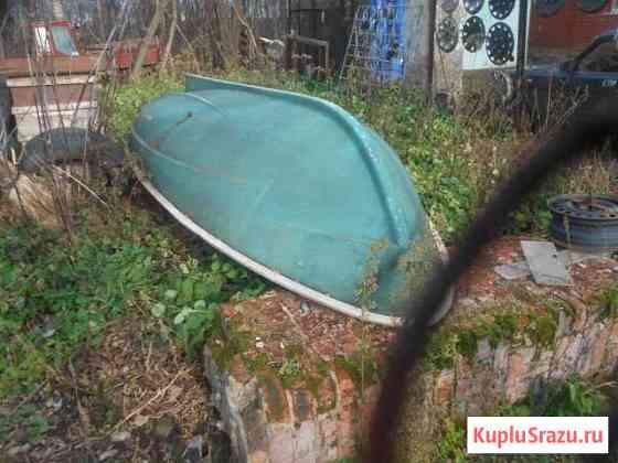 Лодка стеклопластиковая. спасательный бот Елец