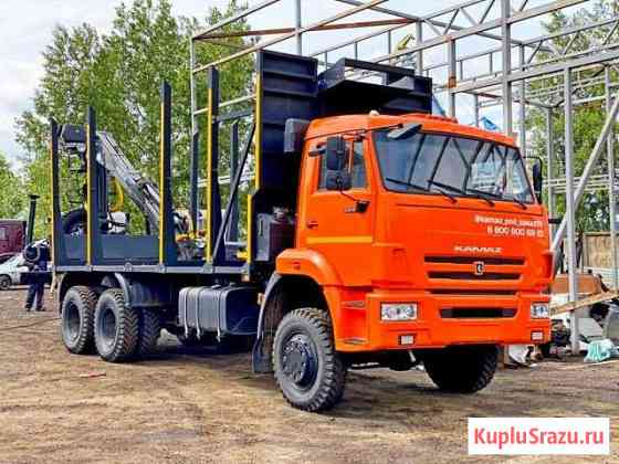 Камаз 65111 сортиментовоз с гму 2017 г Омск