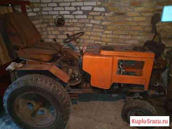 Самодельный трактор Глебычево