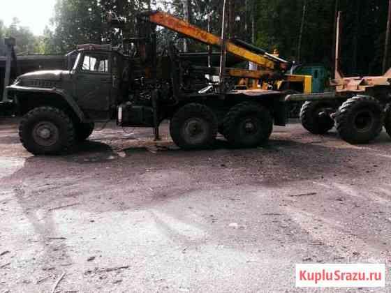 Урал-375 двиг. ямз-236 лесовоз сортиментовоз Суоярви