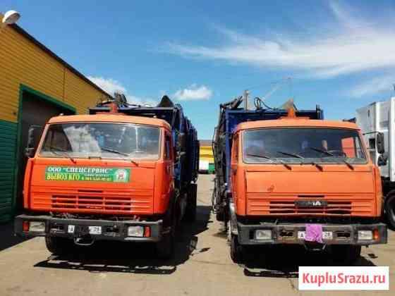 Камаз мк-18 мусоровоз боковой загрузки (3 единицы) Благовещенск