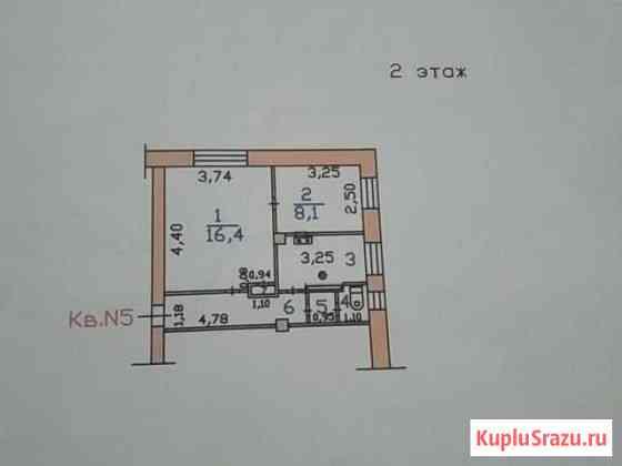 2-комнатная квартира, 38 м², 2/2 эт. Иваново