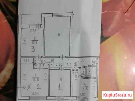 Комната 9 м² в 4-ком. кв., 6/9 эт. Ижевск