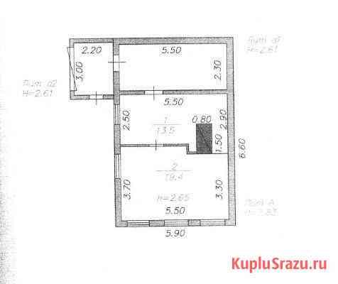 Дом 32.9 м² на участке 6.7 сот. Усолье-Сибирское