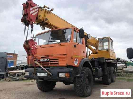 Автокран Ивановец 16 тонн на базе камаз 43118 Октябрьский