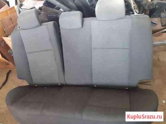 Сиденье заднее Chevrolet Aveo 2007 Лесная Поляна