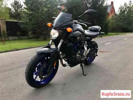 Yamaha MT-07 (FZ-07) Черноголовка