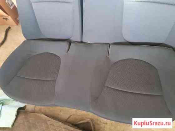Сиденье заднее Hyundai Solaris 2013 Лесная Поляна