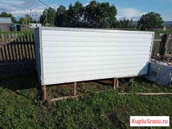 Будка самодел грузовика д 3.1*ш1. 7 в1. 25 Биробиджан