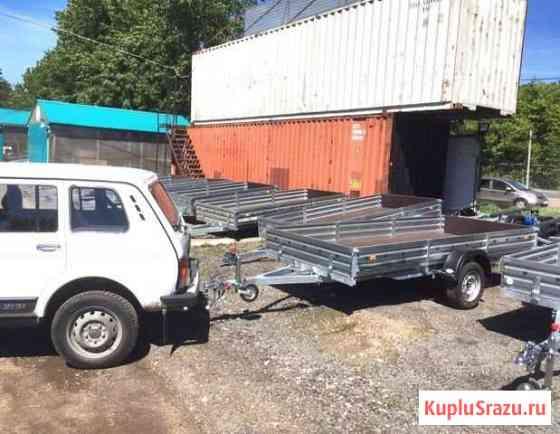 Прицеп бортовой для транспортировки снегохода Волгоград