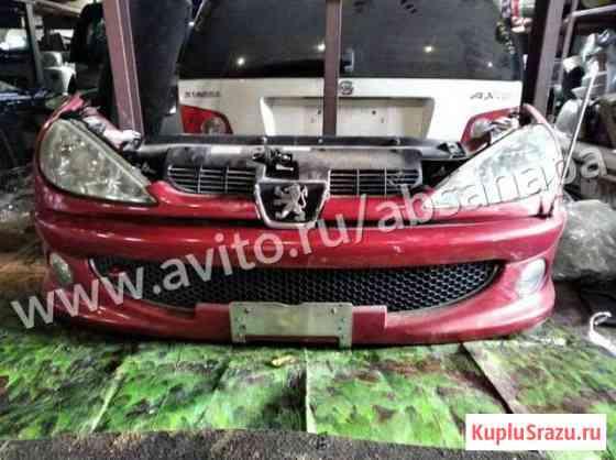 Ноускат Peugeot 206 / Пежо 206 красный Анапа