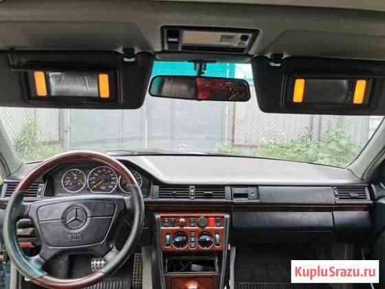 Козырьки с подсветкой Mercedes W124. Комплект Сестрорецк