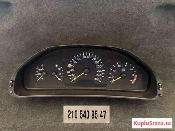 Приборная панель Mercedes W210 дорестайлинг Сестрорецк