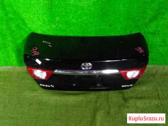 Крышка багажника на toyota mark X GRX130 Воздвиженка