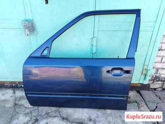 Дверь передняя левая на Mercedes W124. Синяя Сестрорецк