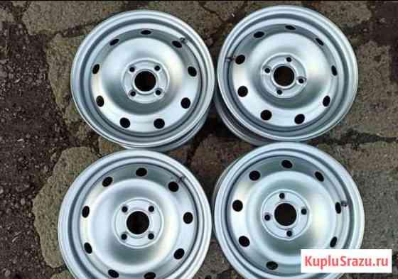 Комплект штампованных оригинальных дисков Renault Саратов
