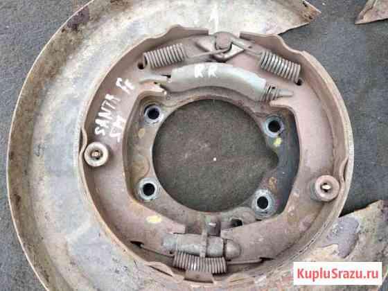 Механизм ручного тормоза Hyundai ssnta fe SM Артемовский