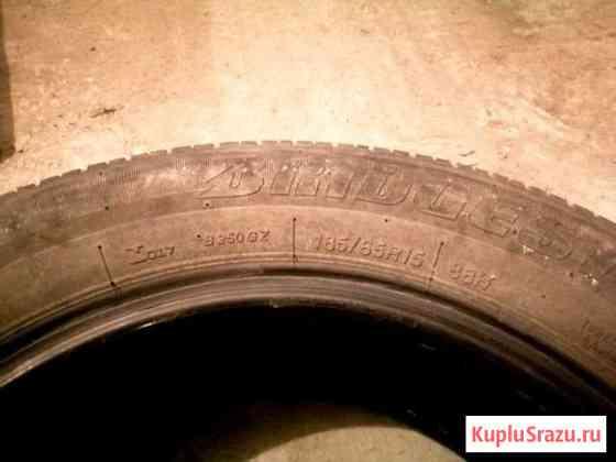 Продам комплект летней резины Bridgestone R15 Томск
