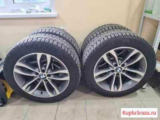 Комплект колёс для BMW зимняя резина Hakkapeliitta Омск