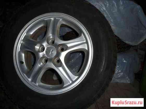4 шипованных колеса на литых дисках Тверь