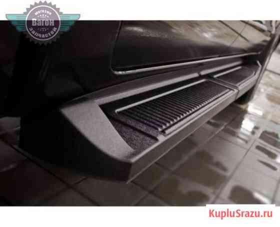 Пороги металлические на Toyota Hilux Москва