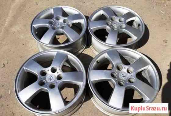Оригинальные диски Hyundai R16 5*114.3 ET46DIA67.1 Омск