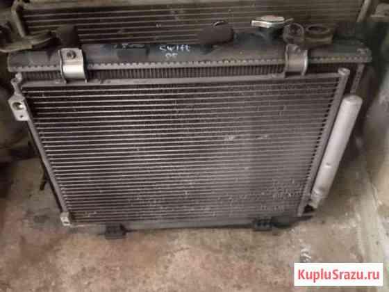 Кассета радиаторов Suzuki Swift 2005 Лесная Поляна