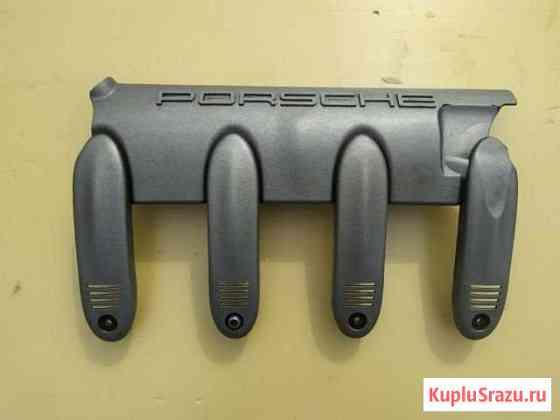 Накладка декоративная на двигатель Порше Кайен 955 Пенза