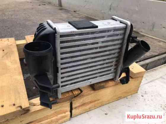 Радиатор интеркулера Ауди А4 Б6 2.5 TDI левый Смоленск
